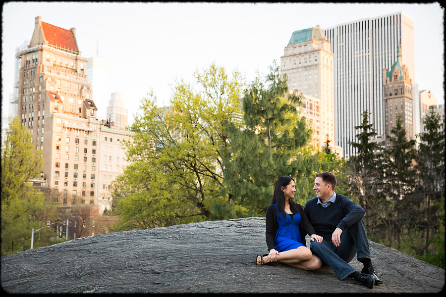 new york wedding couple photo