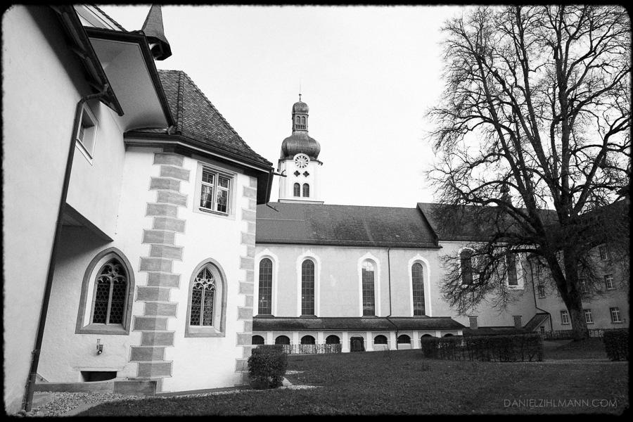kloster fischingen foto schwarzweiss