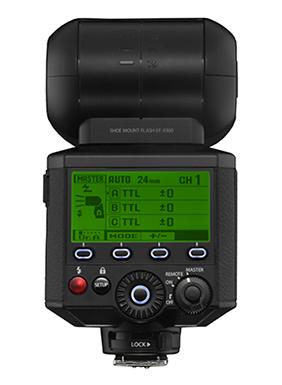 Das neue Systemblitzgerät EF-X500 mit Leitzahl 50 und 24-105mm Zoom (Bild: fujifilm.ch)